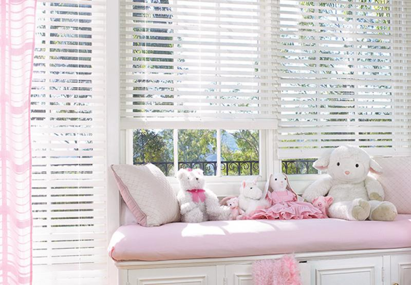 blinds at the faux dining an hunter real affordable price blog wood room decorview everwood window douglas offer vs treatments look of