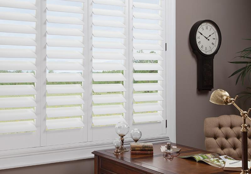 Hunter Douglas Shutters Advance Blinds Amp Drapery Manitoba